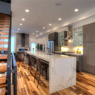 Laminam by Crossville in a Contemporary City Townhouse