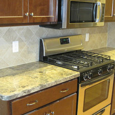Traditional Kitchen Countertops by DeGraaf Interiors