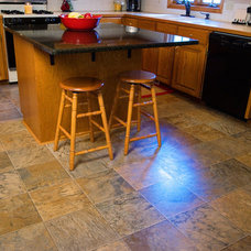 Traditional Laminate Flooring by DeGraaf Interiors