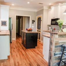Traditional Kitchen by Ashley Anthony Studio
