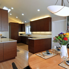 Contemporary Kitchen by Lamperti Contracting & Design