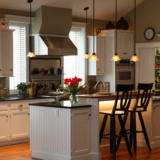 Traditional Kitchen by Custom Home Group