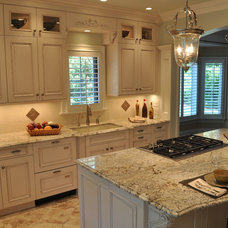 Traditional Kitchen by Ideal Cabinets Design Studio-Greensboro