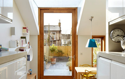 Room Tour: A Small Victorian House Gains an Unusual Extension