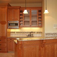 Kitchen by Landmark Builders