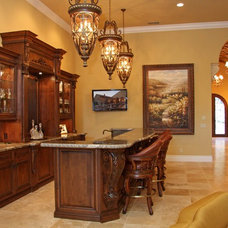 Mediterranean Kitchen by Landmark Builders