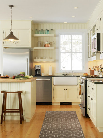 Traditional Kitchen by Cushman Design Group