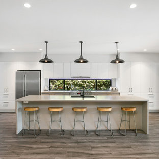 Inspiration for a beach style kitchen in Sydney.