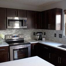 Contemporary Kitchen by Lauren King Interior Design