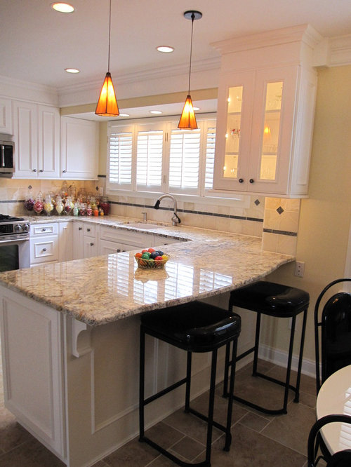 Kitchen Peninsula Home Design Ideas Pictures Remodel And Decor