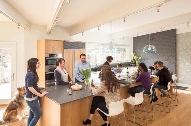 ミッドセンチュリー キッチン by Design Platform