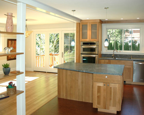 Odd Shaped Rooms Kitchen Design Ideas, Renovations & Photos with Cork