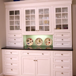 Larchmont - Build in cabinets to blend storage into your kitchen.