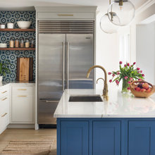 Fun, Blue Kitchen to Cover