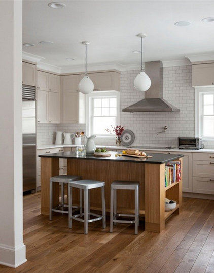 Transitional Kitchen by victoria kirk interiors