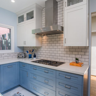 Larchmont Transitional Style Kitchen