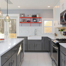 Transitional Kitchen by A&C Kitchens & Baths