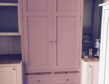 Larder Double Doors with Two Drawers