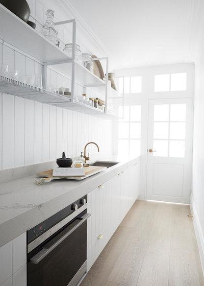 Coastal Kitchen by Carrera By Design