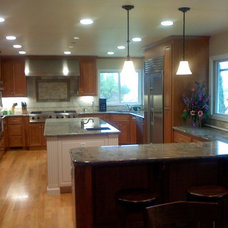 Traditional Kitchen by Jenny Derry Design