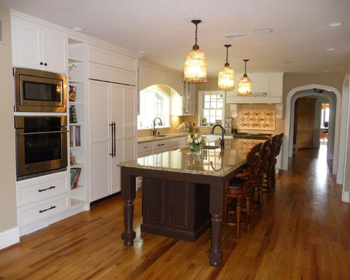 Large family kitchen home design ideas pictures remodel for Large family kitchen