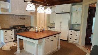 Large Kitchen Cabinet Refinishing