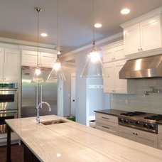 Transitional Kitchen by DK Martin Construction