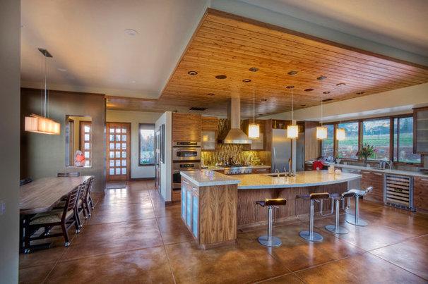 Contemporary Kitchen by Carlos Delgado Architect
