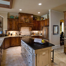 Traditional Kitchen by Authentic Custom Homes