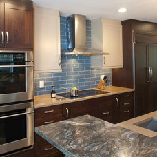 Transitional Kitchen by Darlene Somrak, CKD of Somrak Kitchens, Inc.
