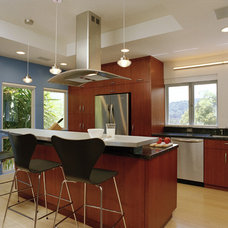 Contemporary Kitchen by Michael Tauber Architecture