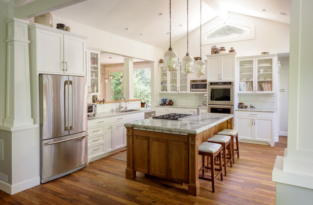 Traditional Kitchen by Gleason and Tankard