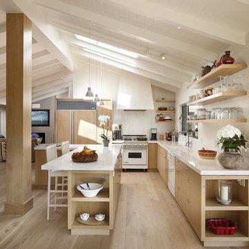 Las Canoas Remodel Kitchen