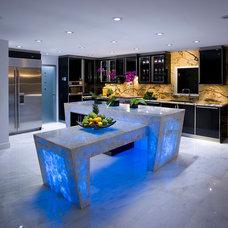 Contemporary Kitchen by Equilibrium Interior Design Inc / Interiors
