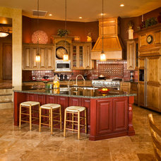 Mediterranean Kitchen by Allen Companies