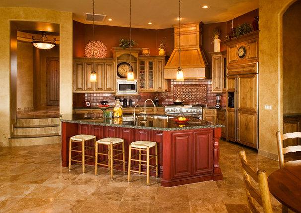 Mediterranean Kitchen by Allen Companies
