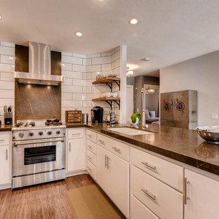 Cucina con pavimento in laminato Las Vegas - Foto e Idee per ...