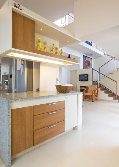Contemporary Kitchen by Gaurav Roy Choudhury Architects