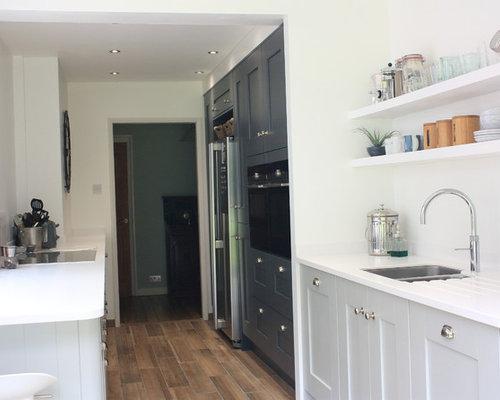 Laura Ashley Galley Kitchen   Dove Grey U0026 Anthracite