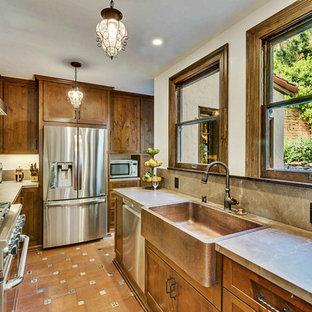 Laurel Canyon Rustic Kitchen Remodel