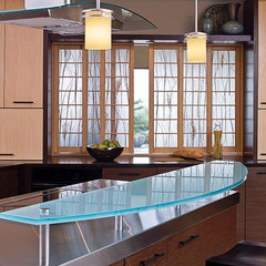 asian kitchen by Gaspar's Construction