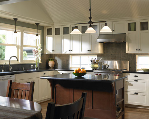 Rough Sawn Shaker Cabinets Home Design Ideas, Pictures ...