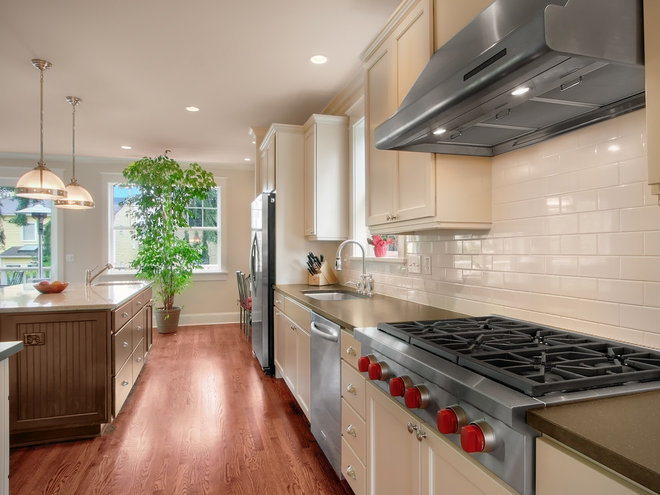 Craftsman Kitchen by RW Anderson Homes