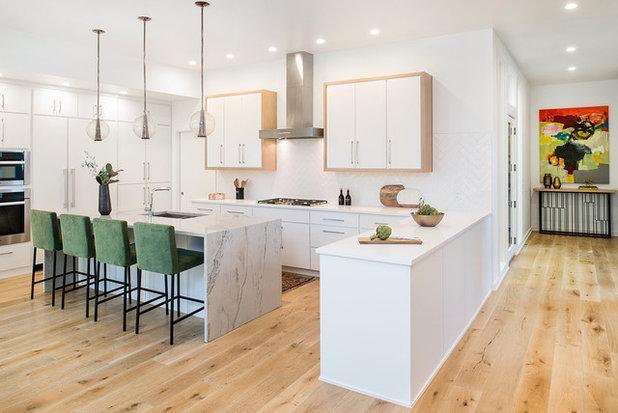 Contemporary Kitchen by Christen Ales Interior Design