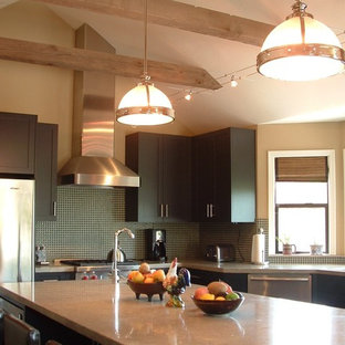 Eclectic kitchen remodeling - Kitchen - eclectic kitchen idea in San Francisco with stainless steel appliances