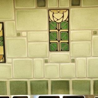 Laureville Kitchen, Motawi Tile