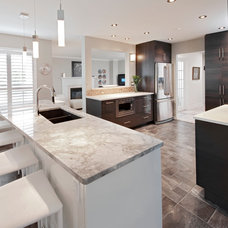 Contemporary Kitchen by Maxim Lighting International