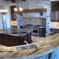 Traditional Kitchen by JDM Countertops, Inc.