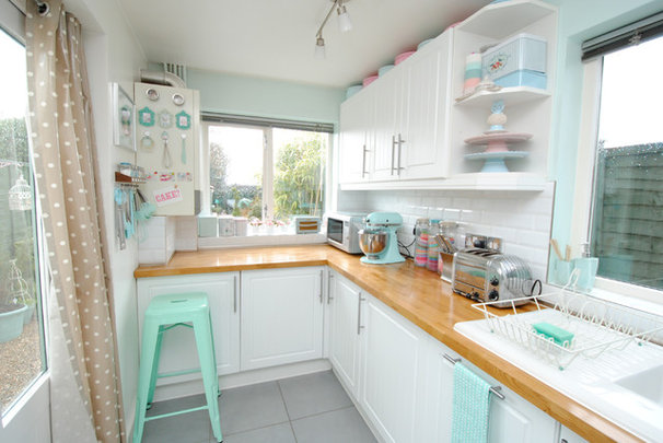 Eclectic Kitchen by Torie Jayne