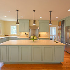 Farmhouse Kitchen by FitzHarris Designs